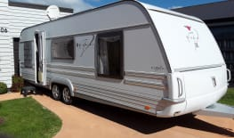 Tabbert the 4 berth caravan