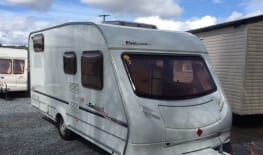 2006 SPRITE FIREBRAND 474 CARAVAN FOR 4 PEOPLE