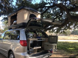 Gas Saving Minivan Camper Conversion!