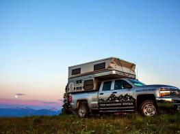 Hawk Four Wheel Camper on Chevy Silverado