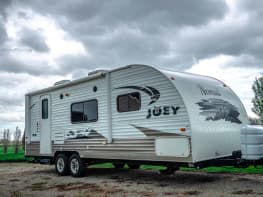 "2012 Nomad joey M2017 Travel Trailer 27"""