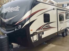 "​""Sheila"" 2015 Keystone Outback 323BH 36"" Travel Trailer"