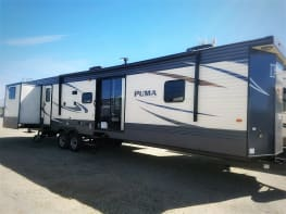 40′ Puma Destination Travel Trailer #1