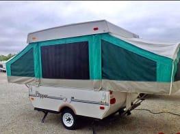 10' PopUp Tent Trailer Camper SuperLite - 900lbs