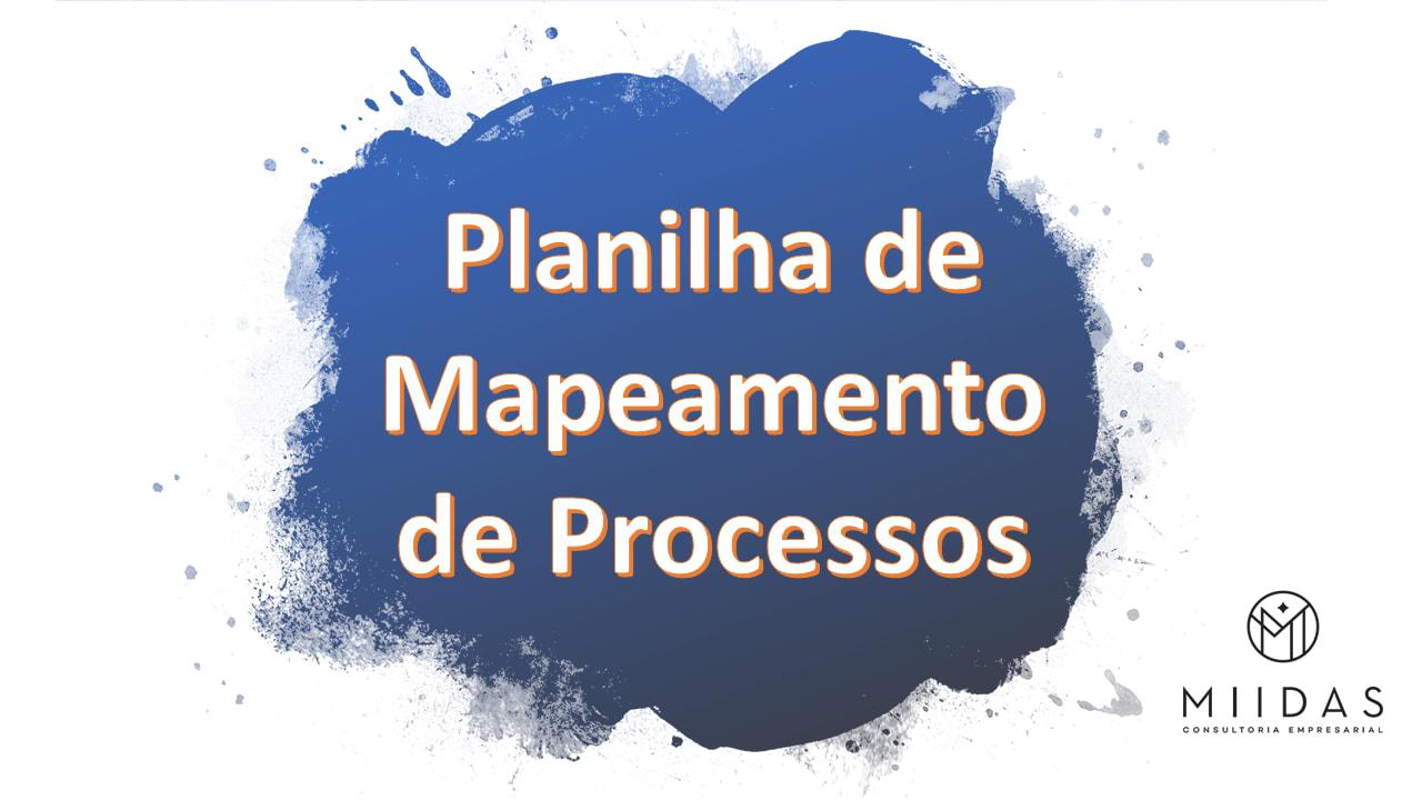 planilha de mapeamento de processos