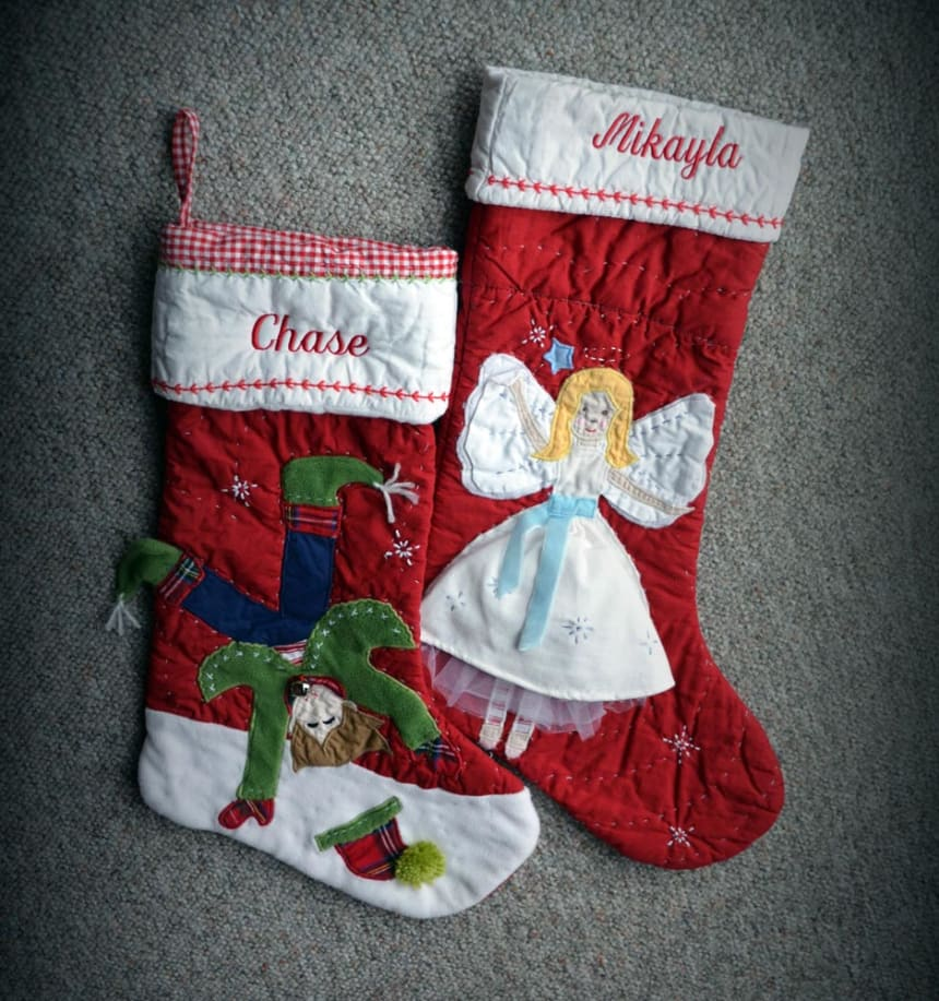 Keeping Their Memory Alive: Mikayla and Chase's Stockings