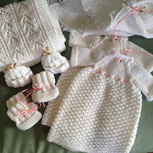 Handmade items for Mikayla's Grace