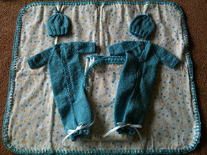 Handmade set for Mikayla's Grace
