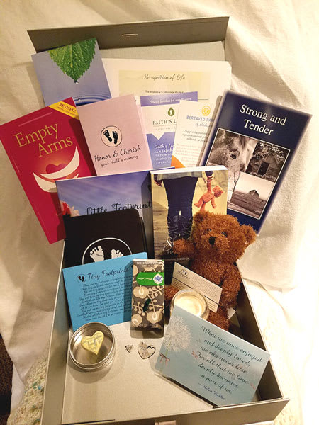 Sponsor an Angel Memory Box