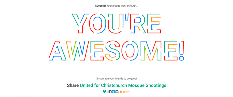 Last week I posted about some stickers I designed and had put up for sale to benefit victims of the shooting in Christchurch, NZ.  They sold out far, far more quickly than I ever would have guessed.