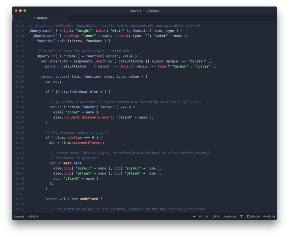 color scheme for my code editor