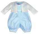 Sparkebukse og jakke til gutte dukke 45 cm