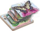 Flerlagspuslespill, sommerfugl