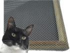 Kattenett inkl. strikk. Pris pr. m2
