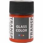 Glass Color Transparent, 35 ml, orange