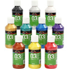 A-Color akrylmaling - 10x120 ml