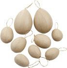 Egg, 12 stk. ass. str. (UTGÅTT)
