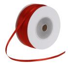 Satengbånd, B:3mm, 100 m, rød