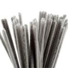 Piperenser, 6mm, L:30cm, 50stk, grå