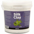 Silk Clay, 650 g, hvit