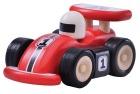 Trebil med gummihjul, (Mini racer )