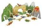 Happy Architect, dinosaurussett, 21 deler