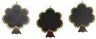 Utendørstavler, trær. Sett med 3 stk