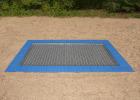 Trampoline 2,0 x 2,0 m for nedgraving
