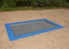 Trampoline 2,0 x 3,0 m for nedgraving