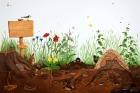 Læringsmotiv, Naturvegg  (180 x 120 cm)