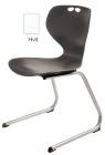 Rio Z stol, hvit. Sittehøyde 45 cm