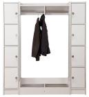 Duno personalsøyle - 5 rum og rukolås 183 cm