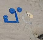Beach volley markeringssett  Sand, 8x16 m.