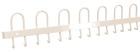 Knaggrekke, L105 cm - Hvit
