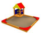 Sandkasse med hus, standard