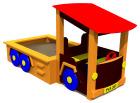 Lastebil med sandkasse, standard