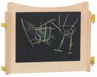 Pamini lekevegg krittavle (begge sider), 72x70cm.