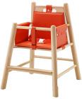 Lav småbarnsstol med pute