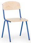 Barnestolen Adam 35 cm, blått understell