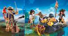 Playmo pirat med kanon og skattekiste