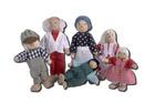 Dukkefamilie ca 11 cm