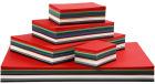 Julekartong, 180g, 1800 ark ass.farger