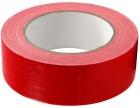Lerretstape, 38mm x 25 m, rød