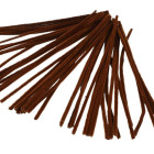 Piperenser, 6mm, L:30cm, 50stk, brun