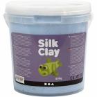 Silk Clay, 650 g, neon blå