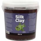 Silk Clay, 650 g, brun