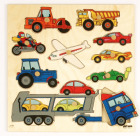 Knoppuslespill,biler