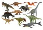 Dinosaurer, 11 stk. ass.