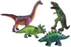 Store myke dinosaurer, 4 stk