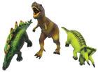 Store myke dinosaurer, sett med 3 stk.